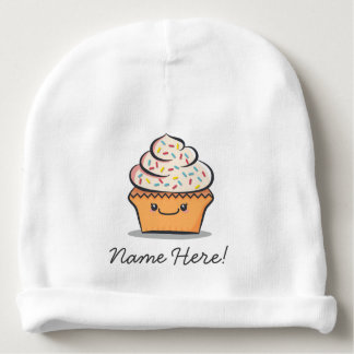 Gorro Para Bebê Chapéu bonito personalizado do bebê do cupcake