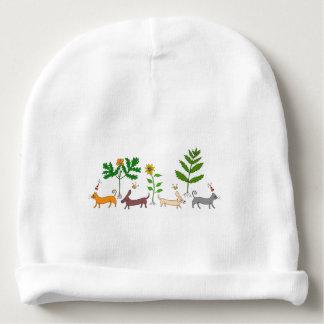 Gorro Para Bebê Chapéu botânico lunático do Beanie do bebê