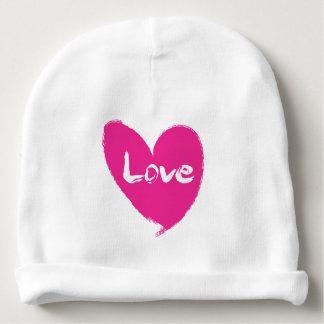 Gorro Para Bebê Chapéu cor-de-rosa do bebê do Beanie do algodão do