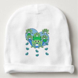 Gorro Para Bebê Chapéu da malha do bebê dos sapos