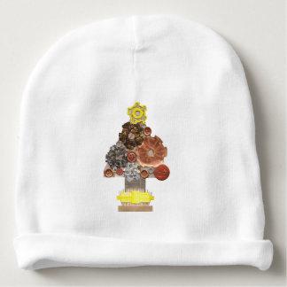 Gorro Para Bebê Chapéu do bebê da árvore de Natal de Steampunk