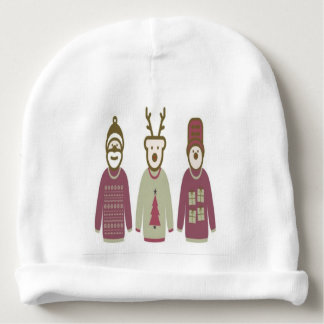 Gorro Para Bebê chapéu do bebê do Natal de três amigos