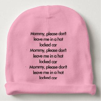 Gorro Para Bebê Chapéu do lembrete da segurança do bebê