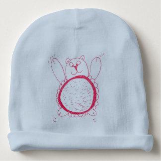 Gorro Para Bebê Chapéu dos bebês do urso do girassol