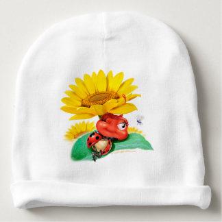 Gorro Para Bebê Chapéu snoozy pequeno do bebê do joaninha