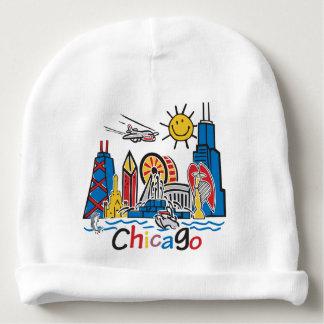 Gorro Para Bebê Chicago caçoa a obscuridade