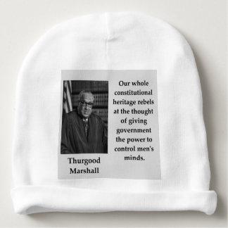 Gorro Para Bebê Citações de Thurgood Marshall
