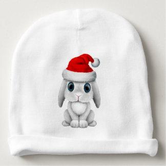 Gorro Para Bebê Coelho branco do bebê que veste um chapéu do papai