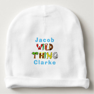 Gorro Para Bebê Coisa selvagem colorida corajosa bebê conhecido