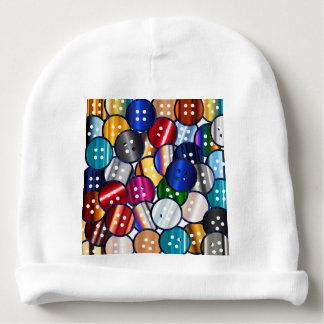 Gorro Para Bebê Coleção do botão da cor