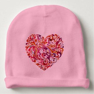 Gorro Para Bebê Coração colorido abstrato