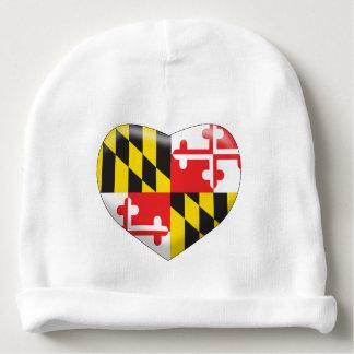 Gorro Para Bebê Coração de Maryland
