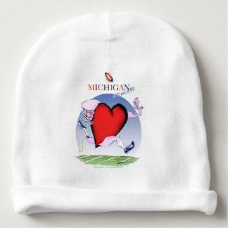 Gorro Para Bebê coração principal de michigan, fernandes tony
