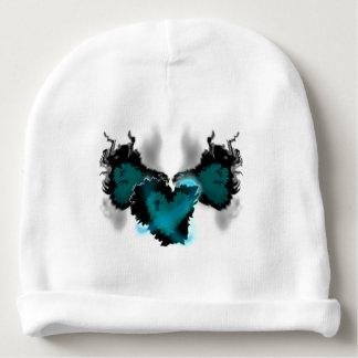 Gorro Para Bebê Coração voado