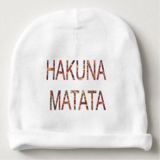 Gorro Para Bebê Criar seu próprio Hakuna Matata nenhum problema