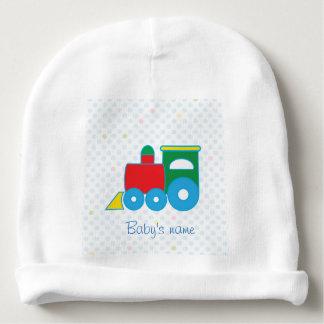 Gorro Para Bebê Cute colorful baby train