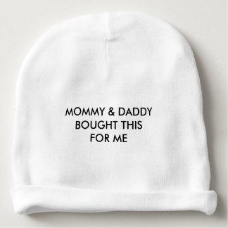 """Gorro Para Bebê Das """"Beanie do bebê mamães & do pai"""""""