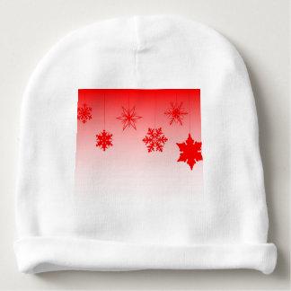 Gorro Para Bebê Decorações vermelhas do Natal