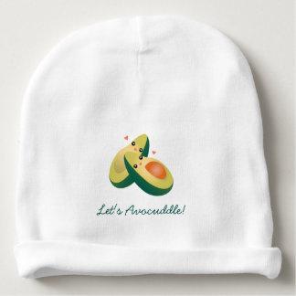 Gorro Para Bebê Deixe-nos os abacates bonitos engraçados de