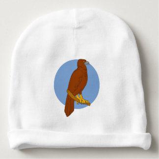 Gorro Para Bebê Desenho Cunha-atado australiano da vara de Eagle