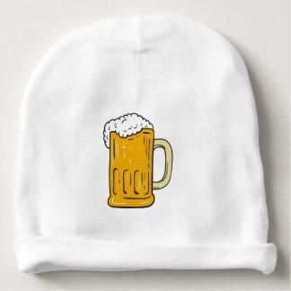 Gorro Para Bebê Desenho da caneca de cerveja