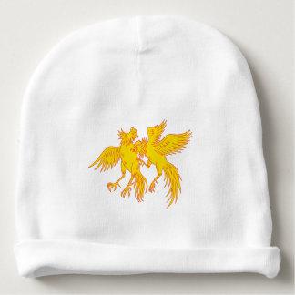 Gorro Para Bebê Desenho do galo novo dos galos do Cockfighting
