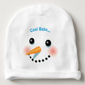 Gorro Para Bebê Desenhos animados de sorriso legal do boneco de