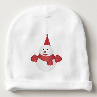 Gorro Para Bebê Desenhos animados do boneco de neve
