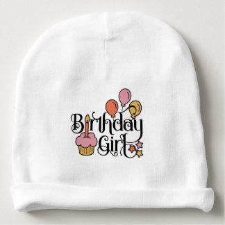 Gorro Para Bebê Design bonito da menina do aniversário para o ø e