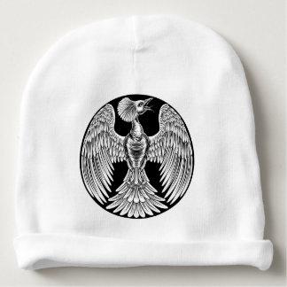 Gorro Para Bebê Design do pássaro do fogo de Phoenix