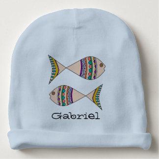 Gorro Para Bebê Design nadador personalizado adorável dos peixes
