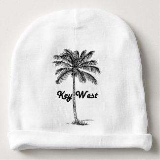 Gorro Para Bebê Design preto e branco de Key West Florida & da