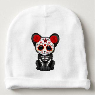 Gorro Para Bebê Dia vermelho da pantera preta inoperante Cub