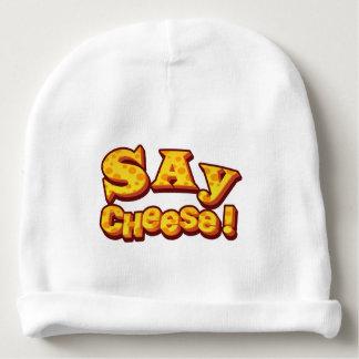 Gorro Para Bebê diga o queijo!