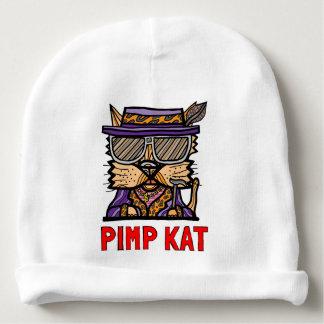 """Gorro Para Bebê Do """"Beanie do algodão do bebê do Kat proxeneta"""""""