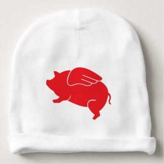 Gorro Para Bebê 🐷 do porco do vôo
