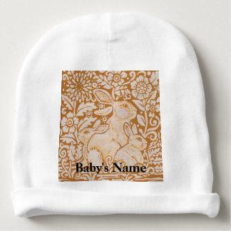 Gorro Para Bebê Doce do vintage do ouro do chapéu do Beanie do