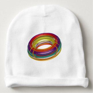 Gorro Para Bebê Donut de Colores