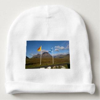 Gorro Para Bebê duas bandeiras de Scotland