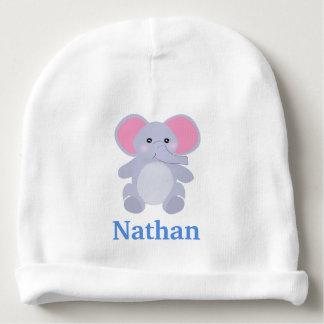 Gorro Para Bebê Elefante cinzento adorável do bebê para o bebé