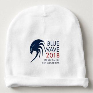 Gorro Para Bebê Eleição 2018 azul do prazo médio da resistência do
