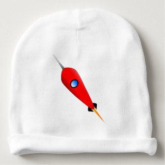 Gorro Para Bebê Espaço Rocket vermelho