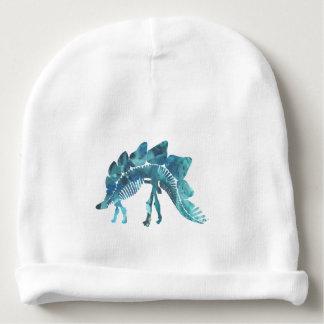 Gorro Para Bebê Esqueleto do Stegosaurus