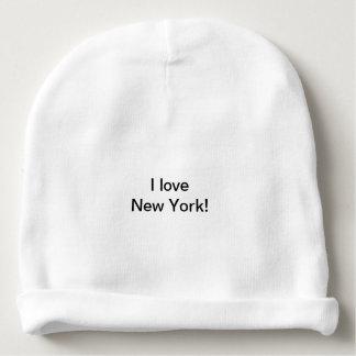 Gorro Para Bebê Eu amo o chapéu do Beany de New York