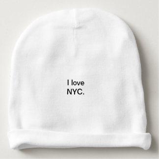 Gorro Para Bebê Eu amo o chapéu do Beany de NYC
