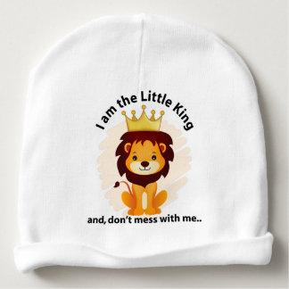 Gorro Para Bebê Eu sou o rei pequeno