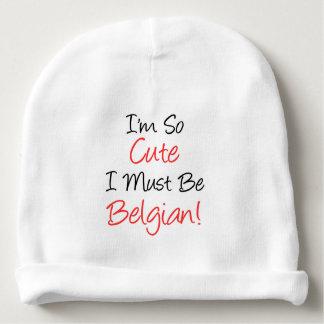 Gorro Para Bebê Eu sou tão bonito eu devo ser chapéu belga do bebê
