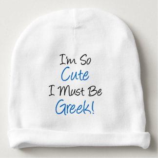 Gorro Para Bebê Eu sou tão bonito eu devo ser chapéu grego do bebê