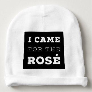 Gorro Para Bebê Eu vim para o chapéu do Beanie do bebê de Rosé