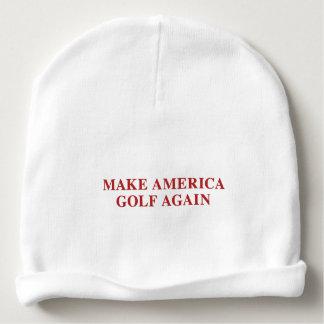 Gorro Para Bebê Faça América Golf outra vez